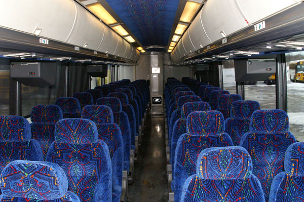 Houston Charter Buses Inside